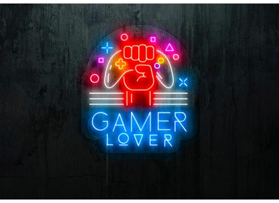 "Neon Led ""Gamer Lover"""
