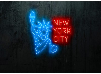 "Neon Led ""NEW YORK"""