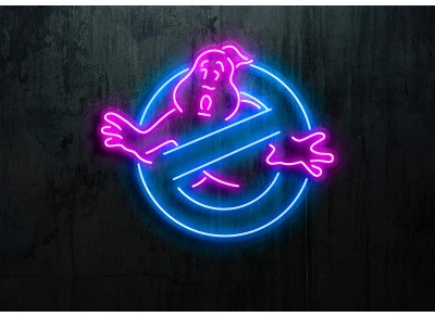 "Neon Led ""Ghost busters"""