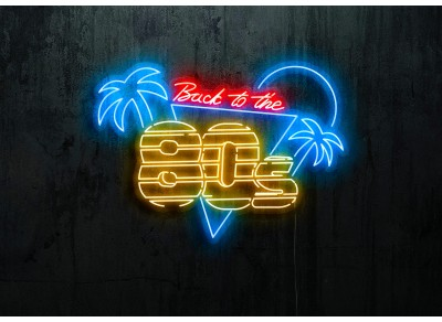 "Neon Led ""Back to the 80s"""