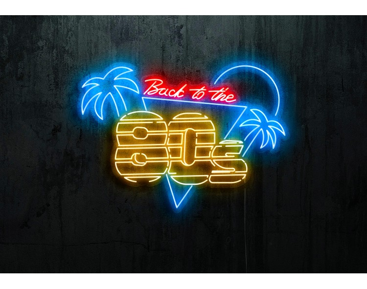 """Neon Led """"Back to the 80s"""""""