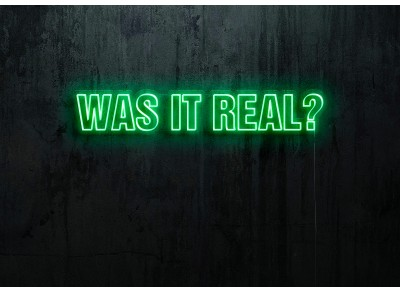was it real, neon led lightsandwires