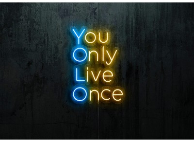 "Neon Led ""You Only Live Once"""