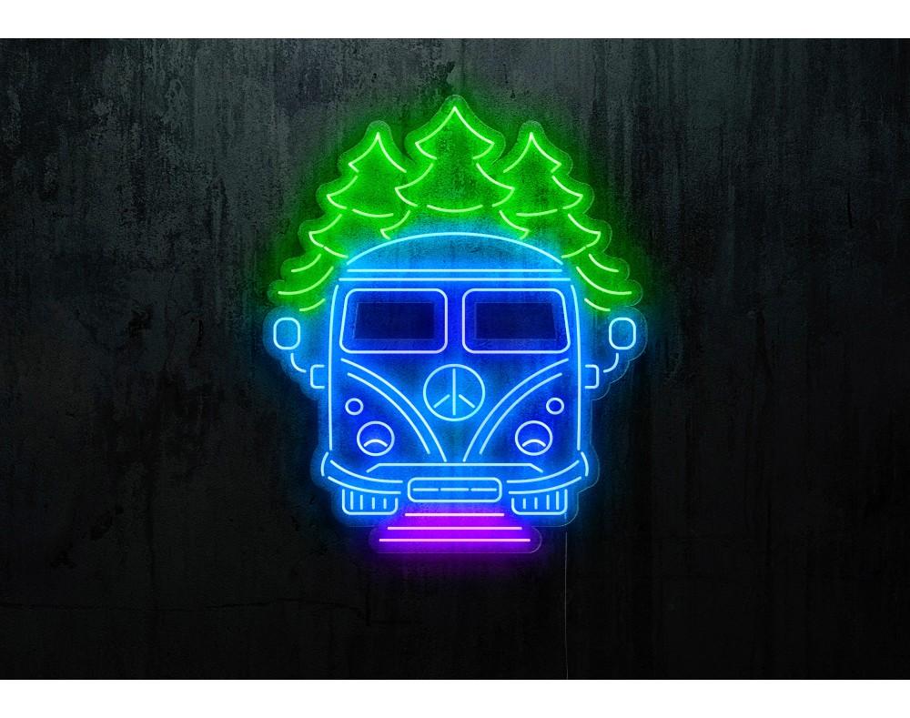 "Neón Led ""Furgo Camper""lightsandwires"