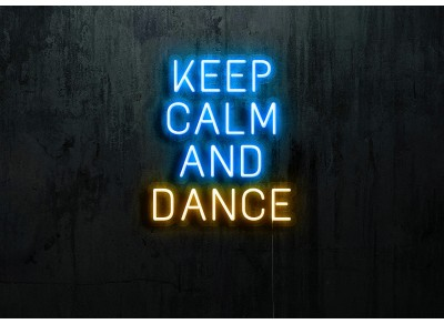 "Neón Led ""Keep calm and Dance"""