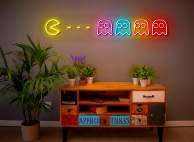 "Neón Led ""Comecocos"" (Pacman)"