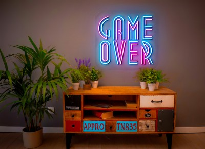 "Neón Led ""Game Over"""