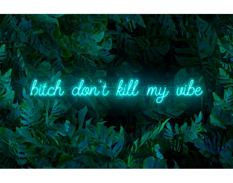 "Neón Led ""B*tch don't kill..."