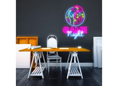"Neón Led ""Game Night"""