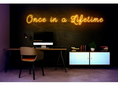 "Neón Led ""One in a Lifetime"""