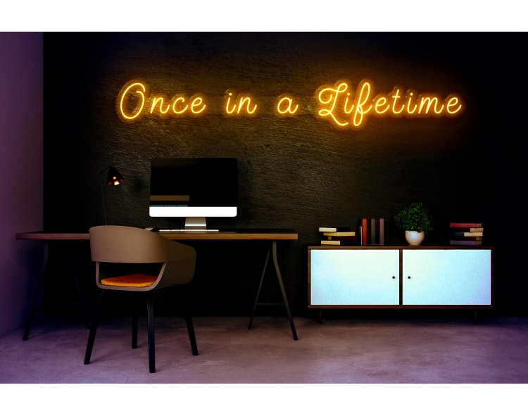 "Neon Led ""One in a Lifetime"""