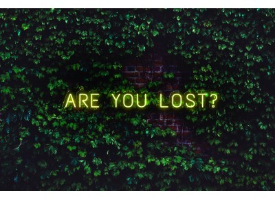 "Neón Led ""Are you lost"""