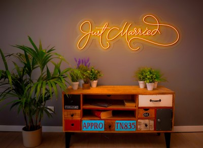 "Neón Led ""Just married"""
