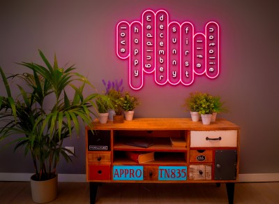 "Neon Led ""Alphabet Soup"""