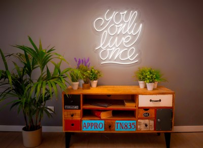 "Neón Led ""You only live one"""