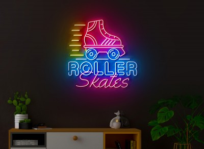 neon led patines roller lightsandwires