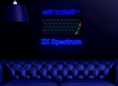 "Neon Led ""Sinclair ZX Spectrum"""