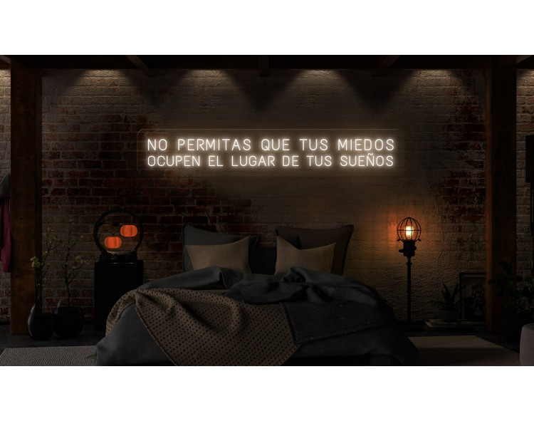 "Neón Led ""No permitas que..."