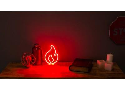 lampaneon fuego