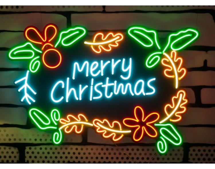 "Neón Led ""Merry Christmas""..."