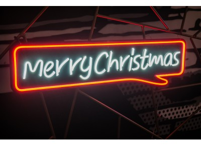 "Neón Led ""Merry Christmas"""