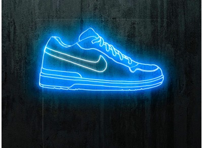 neon led zapas nike, lightsandwires