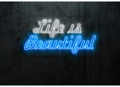 "Neon Led ""Life is Beautiful"""
