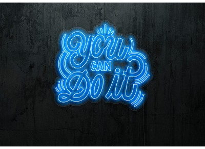 "Neon Led ""You Can Do It"""