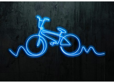 "Neon Led ""Bicycle Silhouette"""
