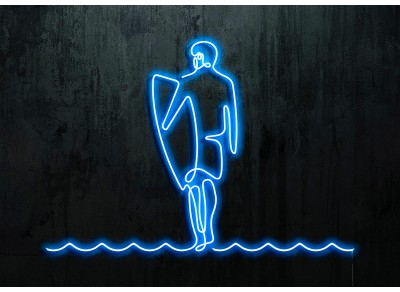 "Neon Led ""Surfer"""