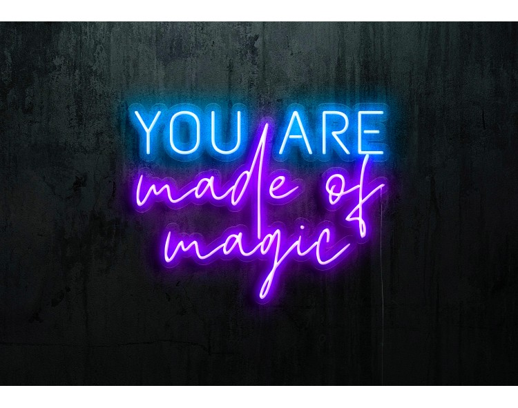 neon led you are made of magic lightsandwires